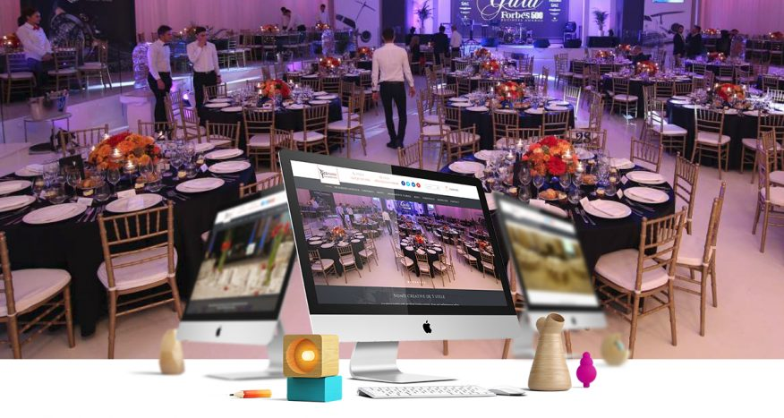 yes events web design