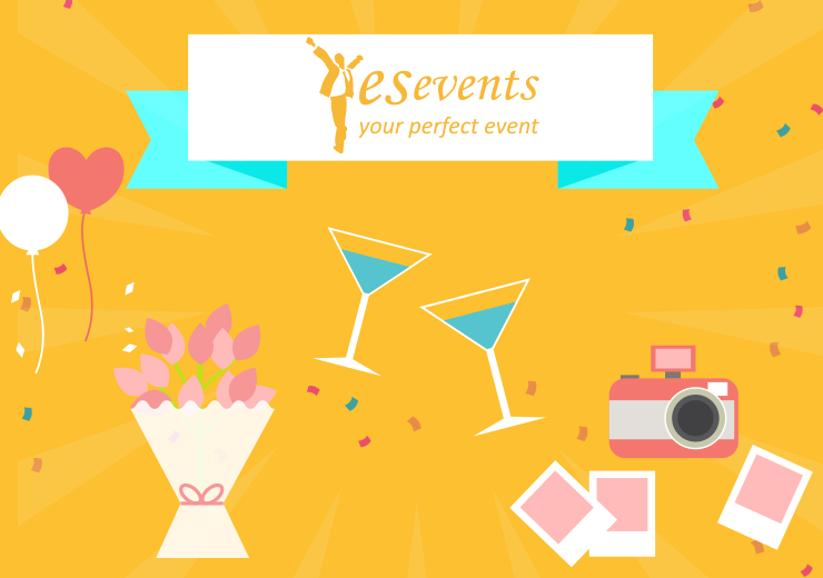 Illustration Yes events website