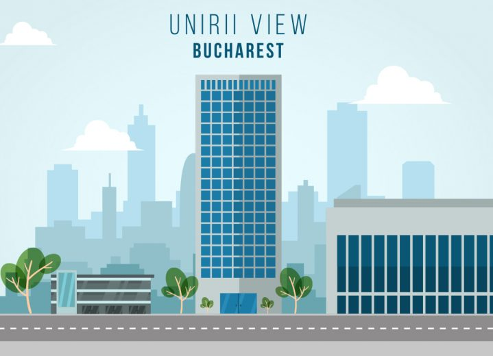 Unirii View illustration